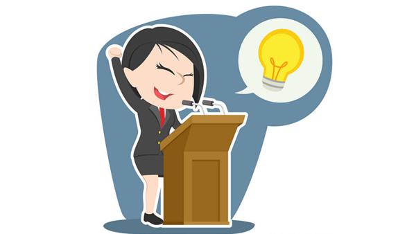 手势语言在演讲口才培训中的技巧体现在哪里