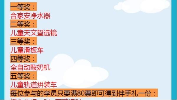 快活六一,好礼不停。杭州口才培训好去处